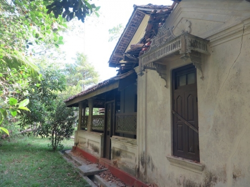 Old Colonial House In Weligama